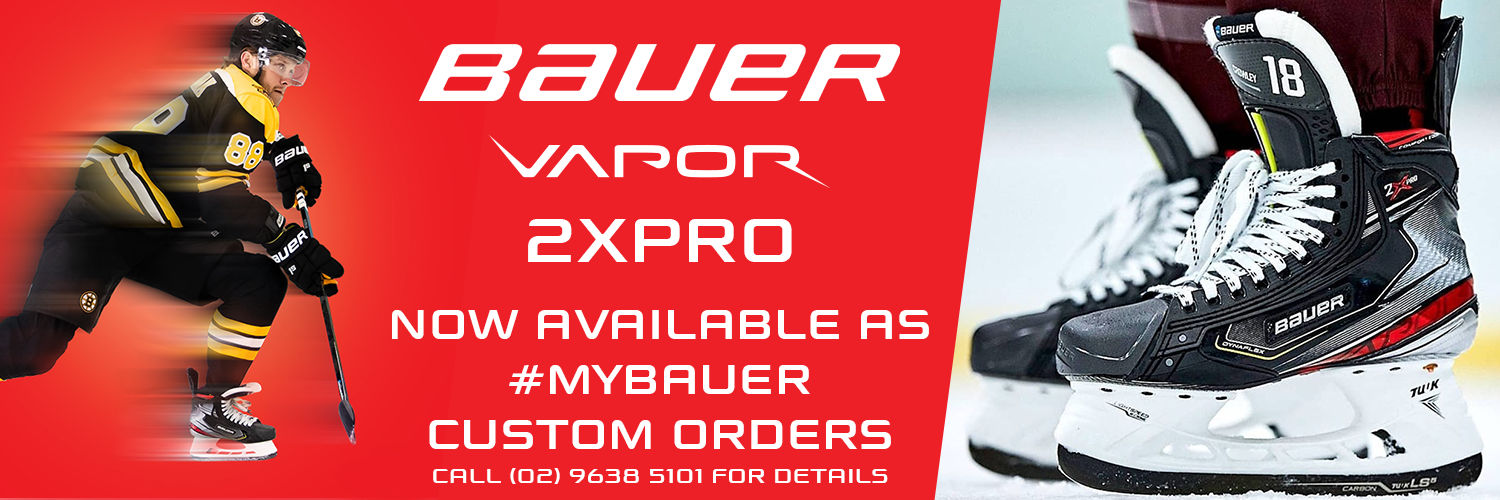 BAUER VAPOR 2XPRO - Now available as #mybauer custom orders